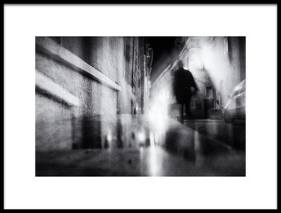 Art print titled In the Light of the Night by the artist Vincenzo Pascale