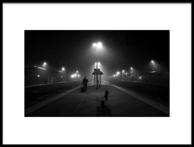 Art print titled In the Mist by the artist Maurits De Groen
