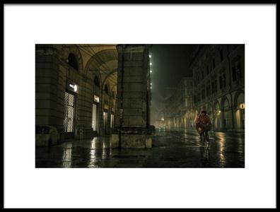 Art print titled In the Rain 1 by the artist Corneanu Daniel