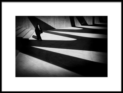 Art print titled In the Shadows by the artist Iman Samady