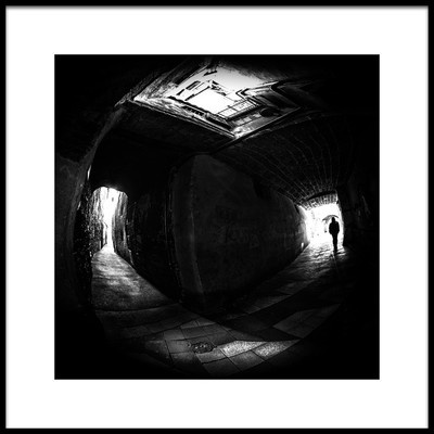 Art print titled In the Street by the artist Marcin Michalowski