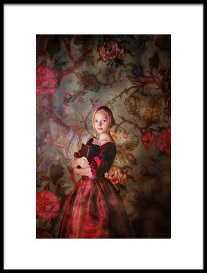 Art print titled In Wonderland by the artist Alina Lankina