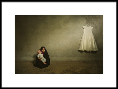 Art print titled Inadequate by the artist FATHI ALDARWISH