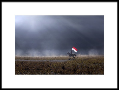 Art print titled Independence Day by the artist Nunu Rizani