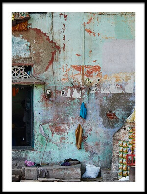 Art print titled India by the artist Rui Caria