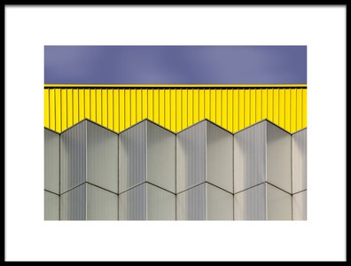 Art print titled Industrial Architecture I by the artist Rolf Mauer