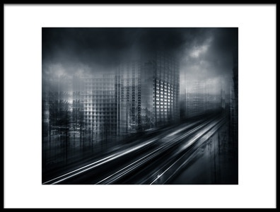 Art print titled Industrial Community TISCO by the artist baidongyun
