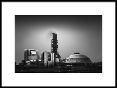 Buy this art print titled Industrial Landscape I  Inconspicuous by the artist Oscar Lopez