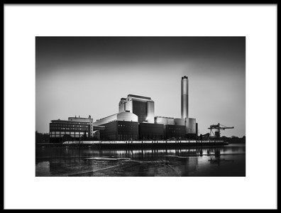 Buy this art print titled Industrial Landscape II  Irreversible by the artist Oscar Lopez