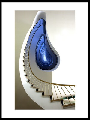 Art print titled Infinity Steps by the artist Martin Widlund