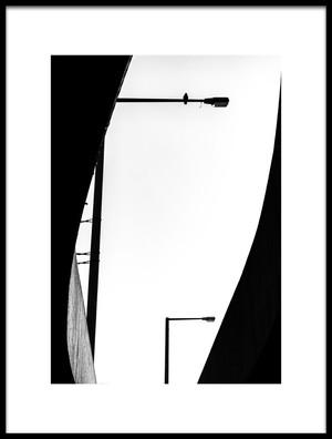 Art print titled Inhabited by the artist Jürgen Hartlieb
