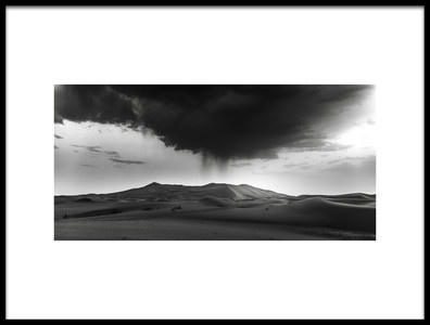 Art print titled Insolite Storm by the artist Jorge Ruiz Dueso