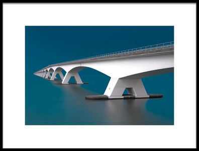 Art print titled Into the Blue by the artist Thomas Siegel
