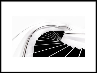 Art print titled Into the White Room by the artist Dennis Mohrmann