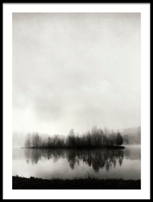 Art print titled Isle of Silence by the artist Franz Bogner