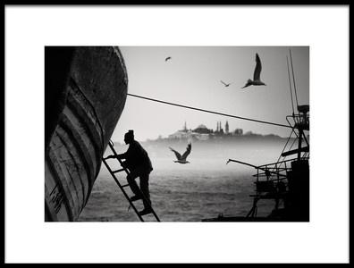 Art print titled Istanbul by the artist John Quintero