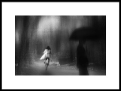 Art print titled It Starts to Rain by the artist Teruhiko Tsuchida