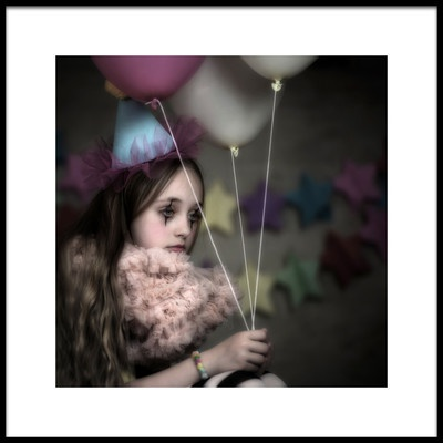 Art print titled Its My Party by the artist Lidia Vanhamme