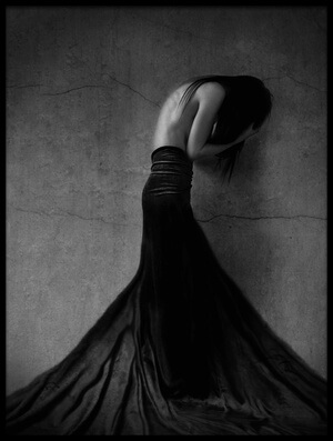 Buy this art print titled It's Nothing by the artist Anja Matko