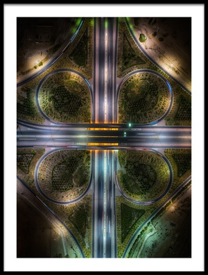 Buy this art print titled Jahra Road by the artist Faisal ALnomas