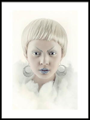 Buy this art print titled Jane Frost by the artist Faldhy Boer