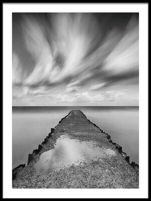 Buy this art print titled Jetty by the artist keren or