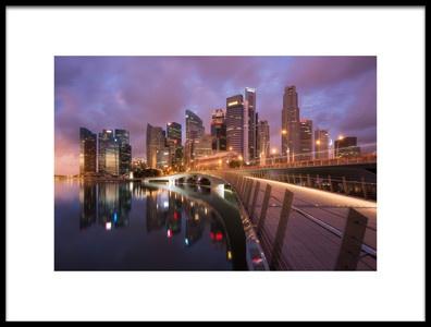 Buy this art print titled Jubilee Bridge by the artist Richard Vandewalle