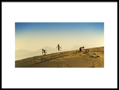 Art print titled Jump by the artist Burak Senbak