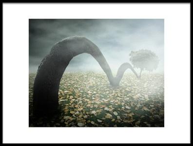Buy this art print titled Jumping Tree by the artist Vladimir Laur
