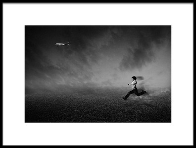 Art print titled Just Run and Run, Run and Run2xdont Look Back Its Will Make You Happy by the artist Che Abu Bakar