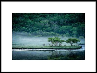 Art print titled Kakumanbuchi Marsh by the artist Teruo Araya