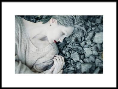 Buy this art print titled Kaya by the artist Inna Mosina