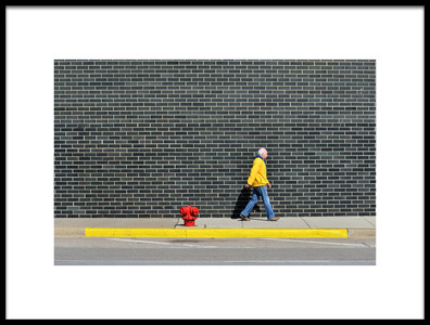Art print titled Keep Walking by the artist Vlad Eftenie