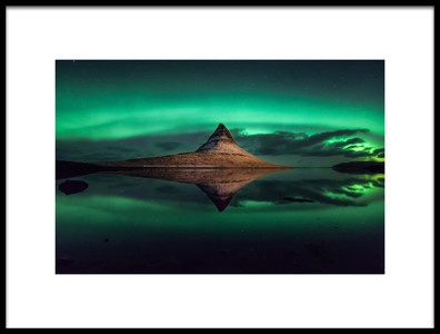 Buy this art print titled Kirkjufell  Iceland by the artist Hernan Calderon Velasco