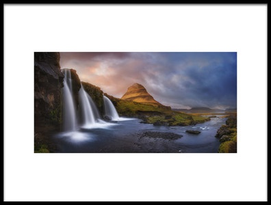 Art print titled Kirkjufell by the artist Miguel Angel Martin Campos