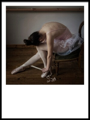 Buy this art print titled KitKat, the Ballerina by the artist kenp