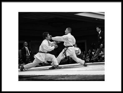 Art print titled Kumite II  Hit by the artist Marcel Rebro