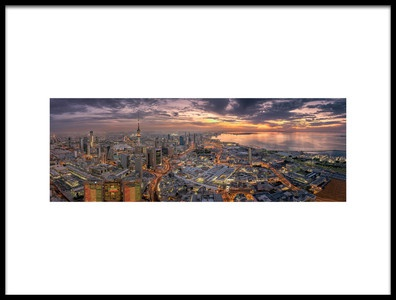 Art print titled Kuwait City by the artist AHMAD AL SAFFAR