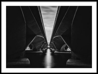 Art print titled La Bridge by the artist Andi Halil