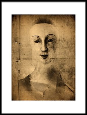 Art print titled La Couteriere Fille by the artist jeffrey hummel