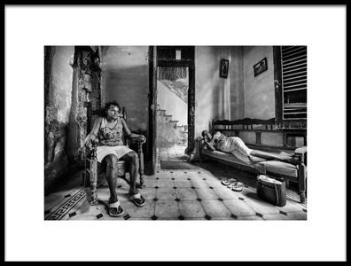 Art print titled La Habana by the artist Melih Karakaya