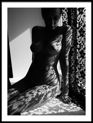 Buy this art print titled Lace by the artist Mikhail Faletkin