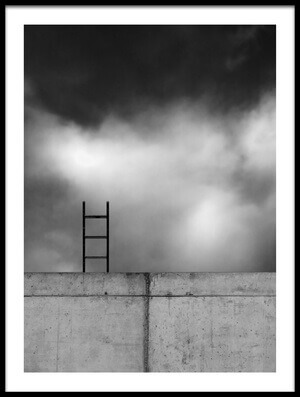 Buy this art print titled Ladder and Wall by the artist Gilbert Claes