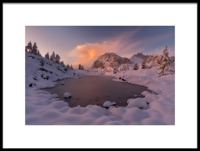 Art print titled Lago Limedes by the artist Marian Kuric
