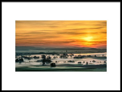 Art print titled Lake Constance by the artist Martin Steeb