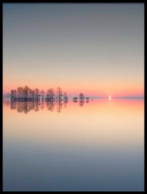 Buy this art print titled Lake Mattamuskeet Memory by the artist Liyun Yu
