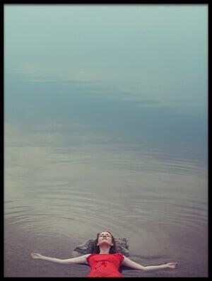 Art print titled Lake of Peace by the artist Tatiana Koshutina