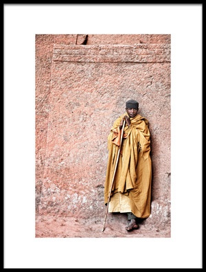 Buy this art print titled Lalibela Monk by the artist Trevor Cole