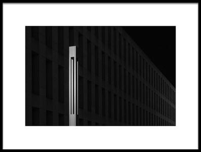Art print titled Lamp Light by the artist Rolf Endermann