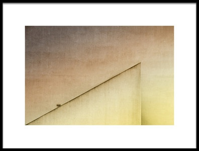 Art print titled Lamp Light by the artist Rolf Endermann